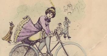 Bicycle Girl Skirt