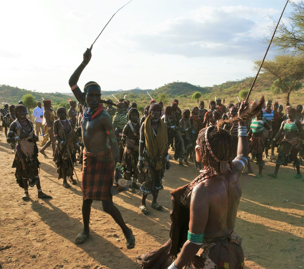 bull jumping - hamer tribe
