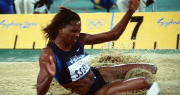 דון בורל, קופצת למרחקים, באולימפיאדת סידני, 2000.