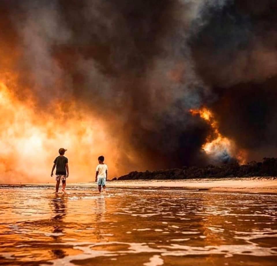 משבר האקלים, יבשת אוסטרליה הלוהטת וההצפות בישראל