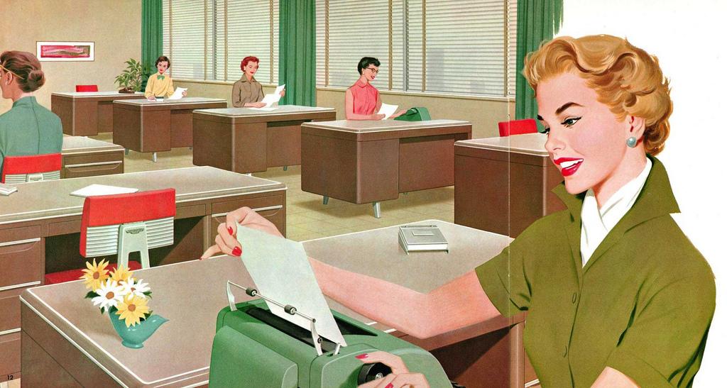 למה אתם נדחפים למזכירות לשולחן?