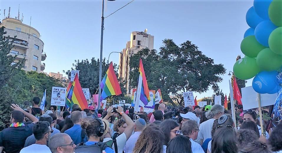 The Jerusalem Pride Walk