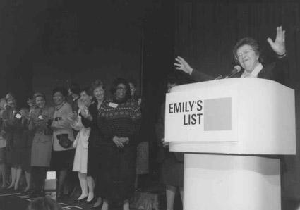 נאום על ידי רשימת אמילי