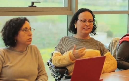 """נשים עם מוגבלות אודלי-ה פיטוסי ורוני רוטלר, מעורכות הדו""""ח"""