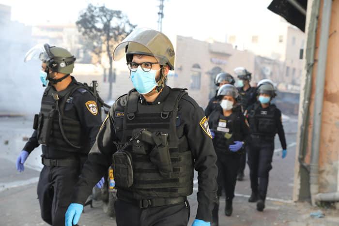 אלימות משטרתית ביפו בחסות הקורונה
