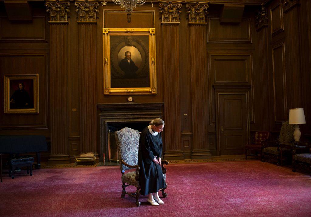 השופטת ביידר גינסבורג ב2013: 20 שנים בבית המשפט העליון | וושינגטון פוסט / Getty Images
