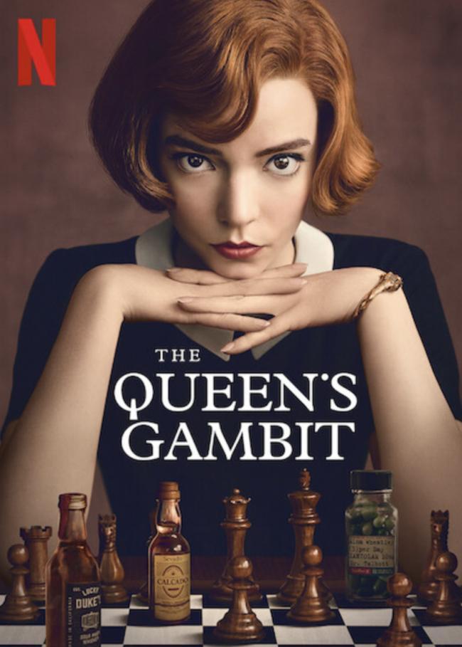 המלכה גמביט פמיניסטית? פוסטר של נושא הכתבה