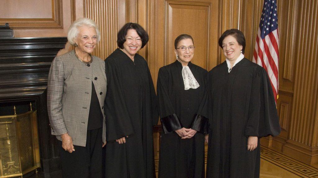 ארבעת הנשים היחידות שנבחרו לשופטות בבית המשפט העליון בארה