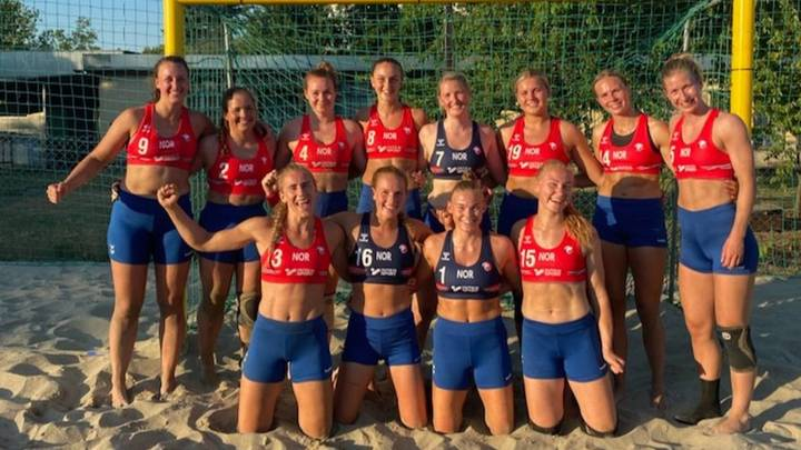נבחרת נורווגיה בכדורעף חופים באולימפיאדת טוקיו