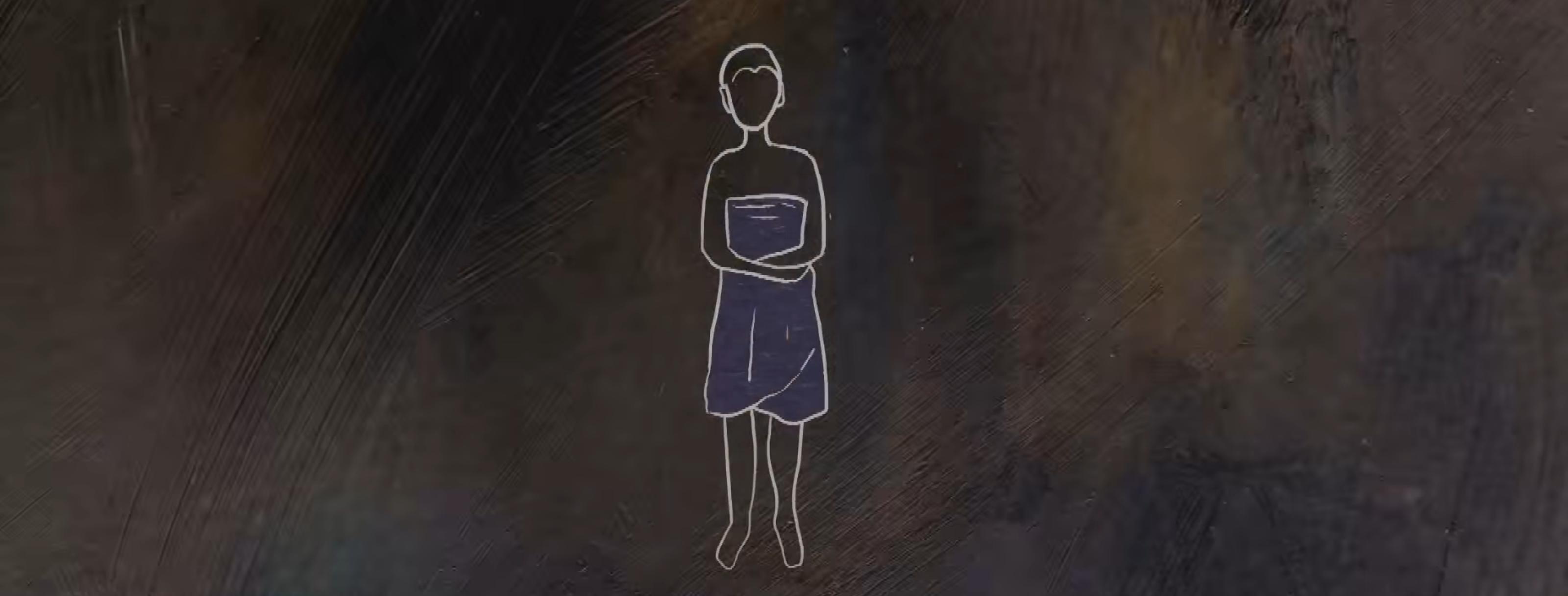 איור של ילדת טרוקוסי